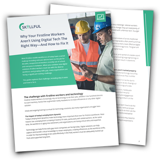 Why Your Firstline Workers Aren't Using Digital Tech the Right Way